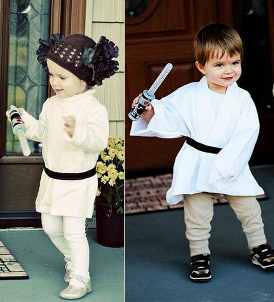 disfraces caseros star wars para bebés