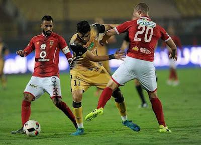 التشكيل الرسمي للفريقين الأهلي والإنتاج بـ الدوري المصري
