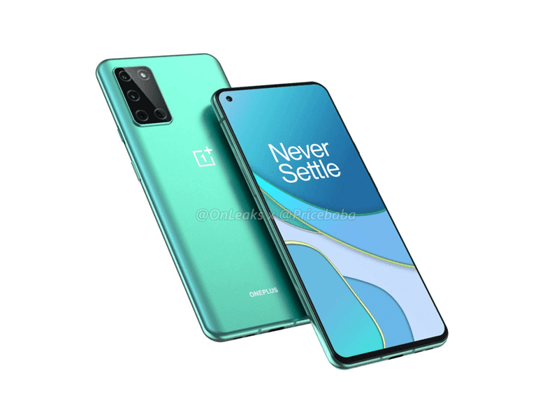 Alleged renders of the OnePlus 8T 5G