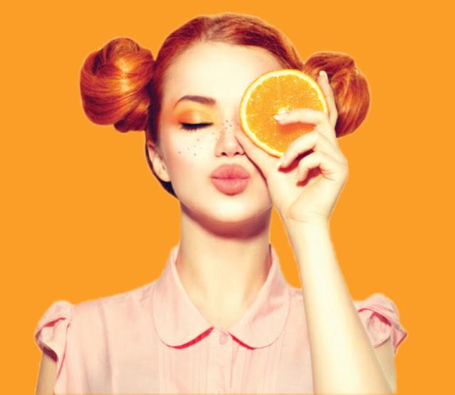 البرتقال للتغذية الصحية