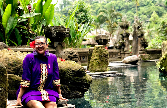 Holy Spring Pool at the Royal Pita Maha Ubud Bali