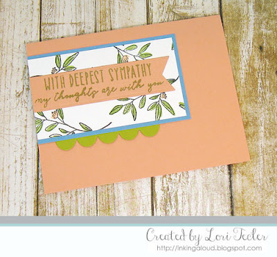 With Deepest Sympathy card-designed by Lori Tecler/Inking Aloud-stamps from Reverse Confetti
