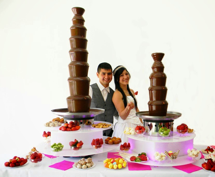 cascada de chocolate royal y candy venta