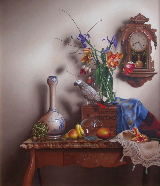 03-Exotica-Mark-Thompson-Photo-Realistic-Still-Life-Paintings-www-designstack-co