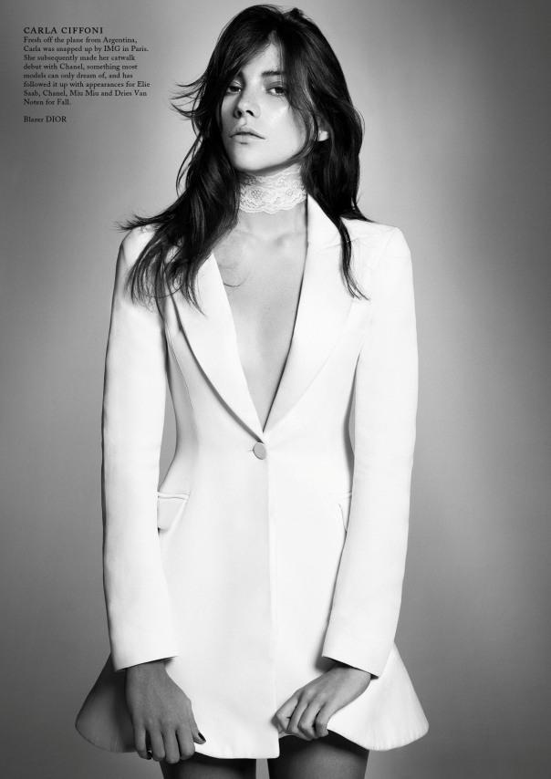 Carla Ciffoni Layers In Fall Knitwear For Elle Uk By: Inoubliablemodelarmy: Heart Of Glass
