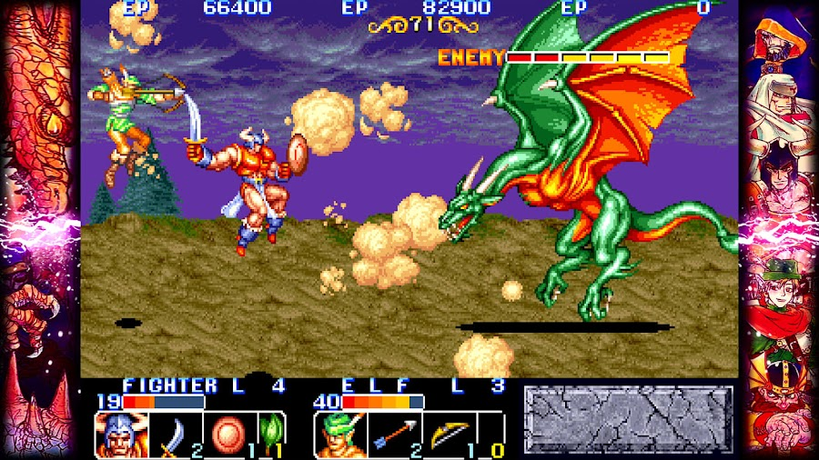 capcom beat em up games the king of dragons