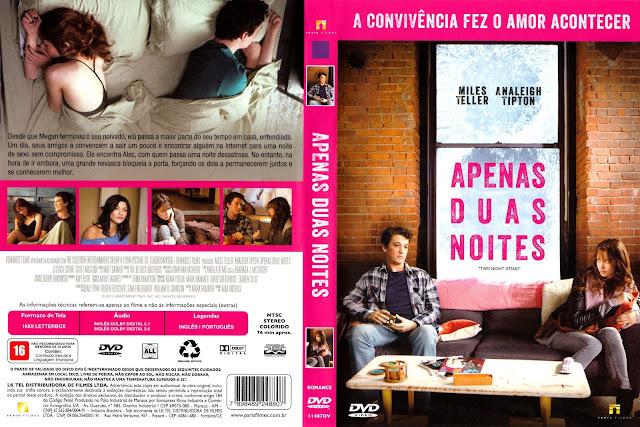 Capa DVD Apenas Duas Noites