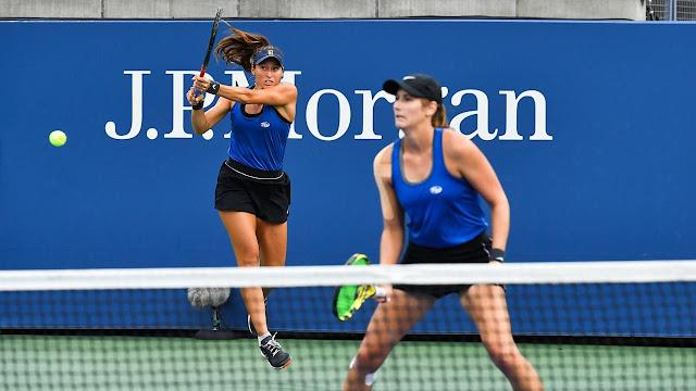 Luisa Stefani Hayley Carter US Open
