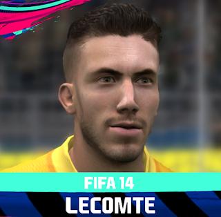 FIFA 14 Faces Benjamin Lecomte by Rale