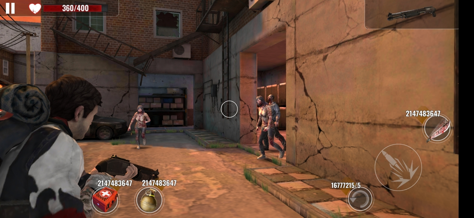 Zombie Survival Android Mod