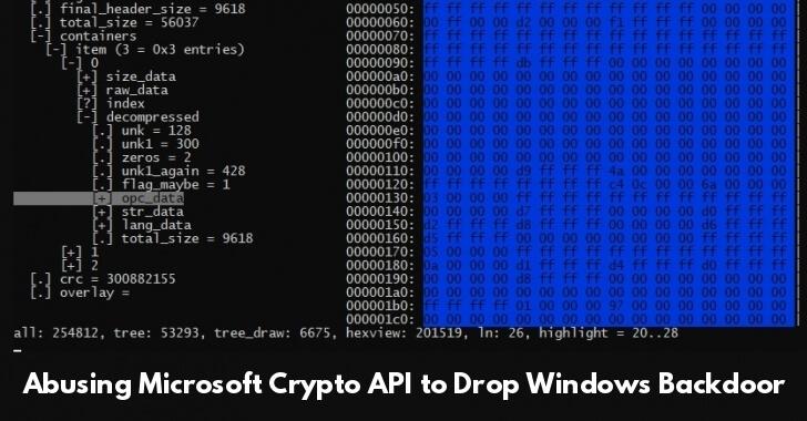 Microsoft Crypto API