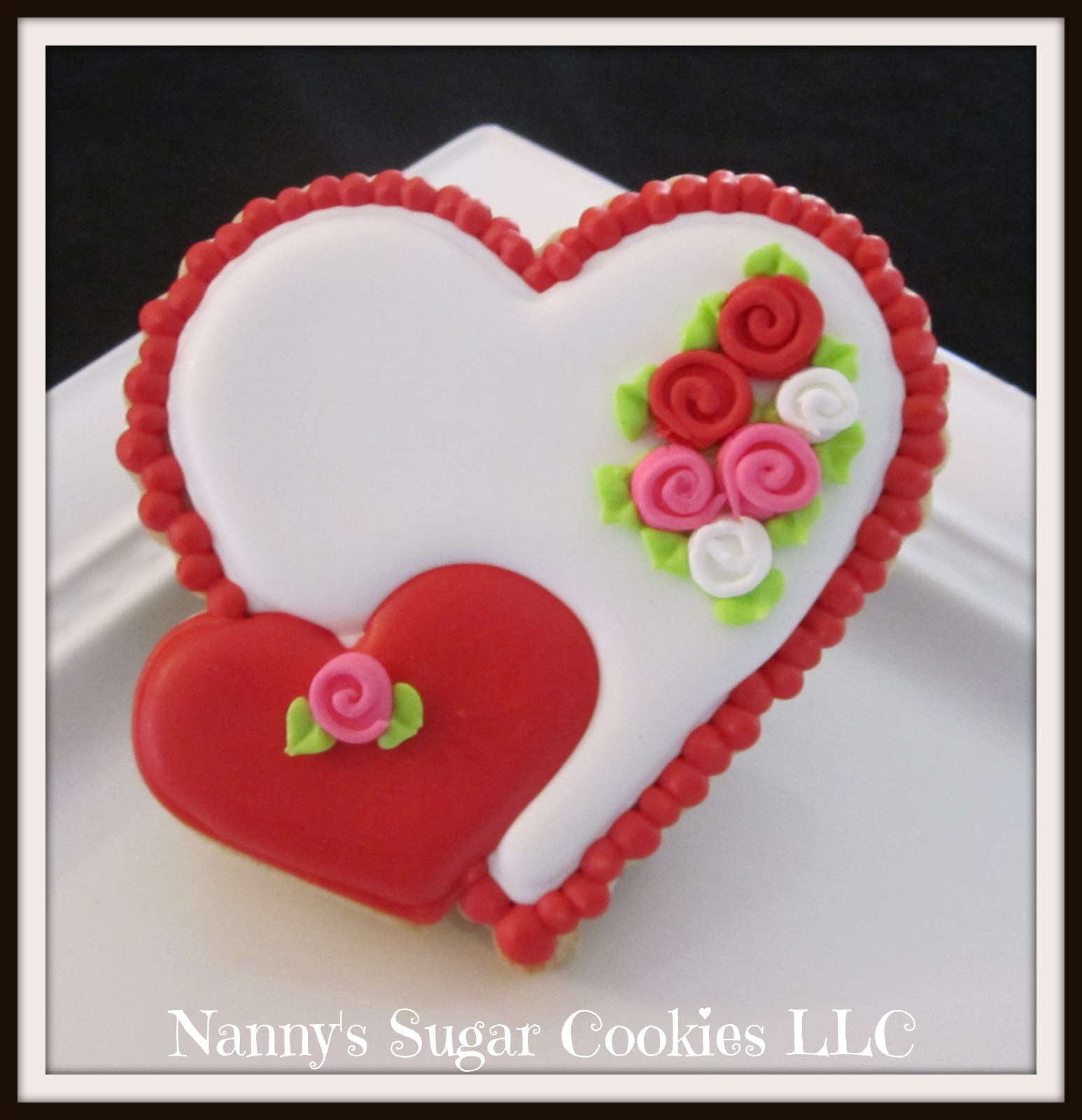 Nanny S Sugar Cookies Llc 2018 Valentine S Day Cookie Favors