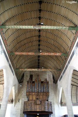Interni della Chiesa di Notre Dame a Roscoff