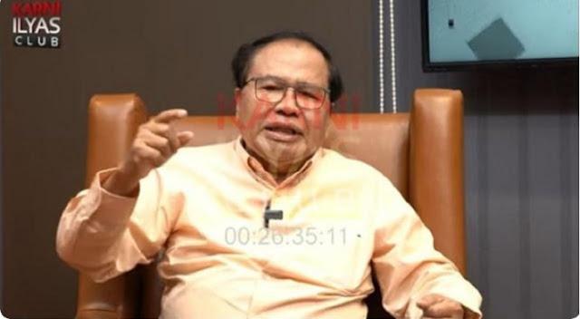 Rizal Ramli Ungkap Dana Haji Dalam Bentuk Tunai Tinggal Rp18 Miliar, Sisanya Kemana?