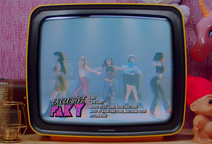 "Music video: FAKY go disco with ""The Light"", but Avex still can't see it for themselves 