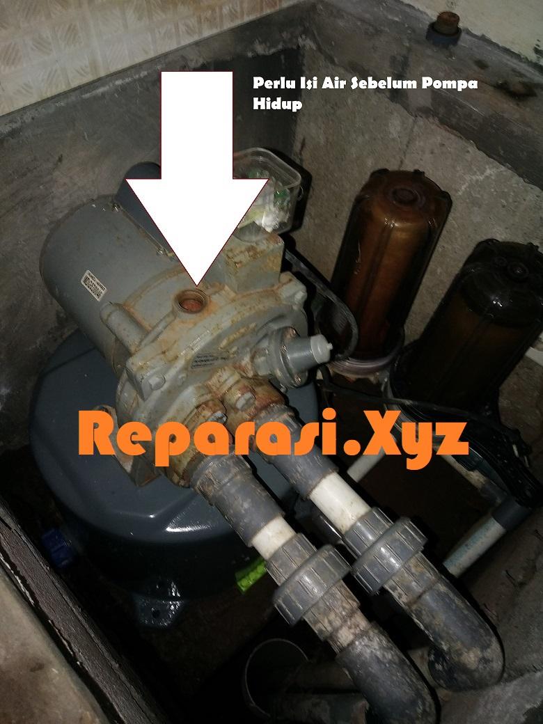 Cara Memperbaiki Pompa Air Yang Selalu Minta Dipancing Reparasi Xyz