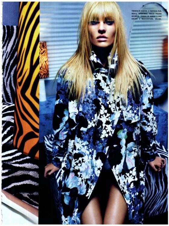 Candice Swanepoel Photoshoot for Vogue Russia Magazine