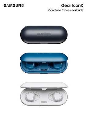 Samsung announced Gear IconX activity tracking wireless earphones