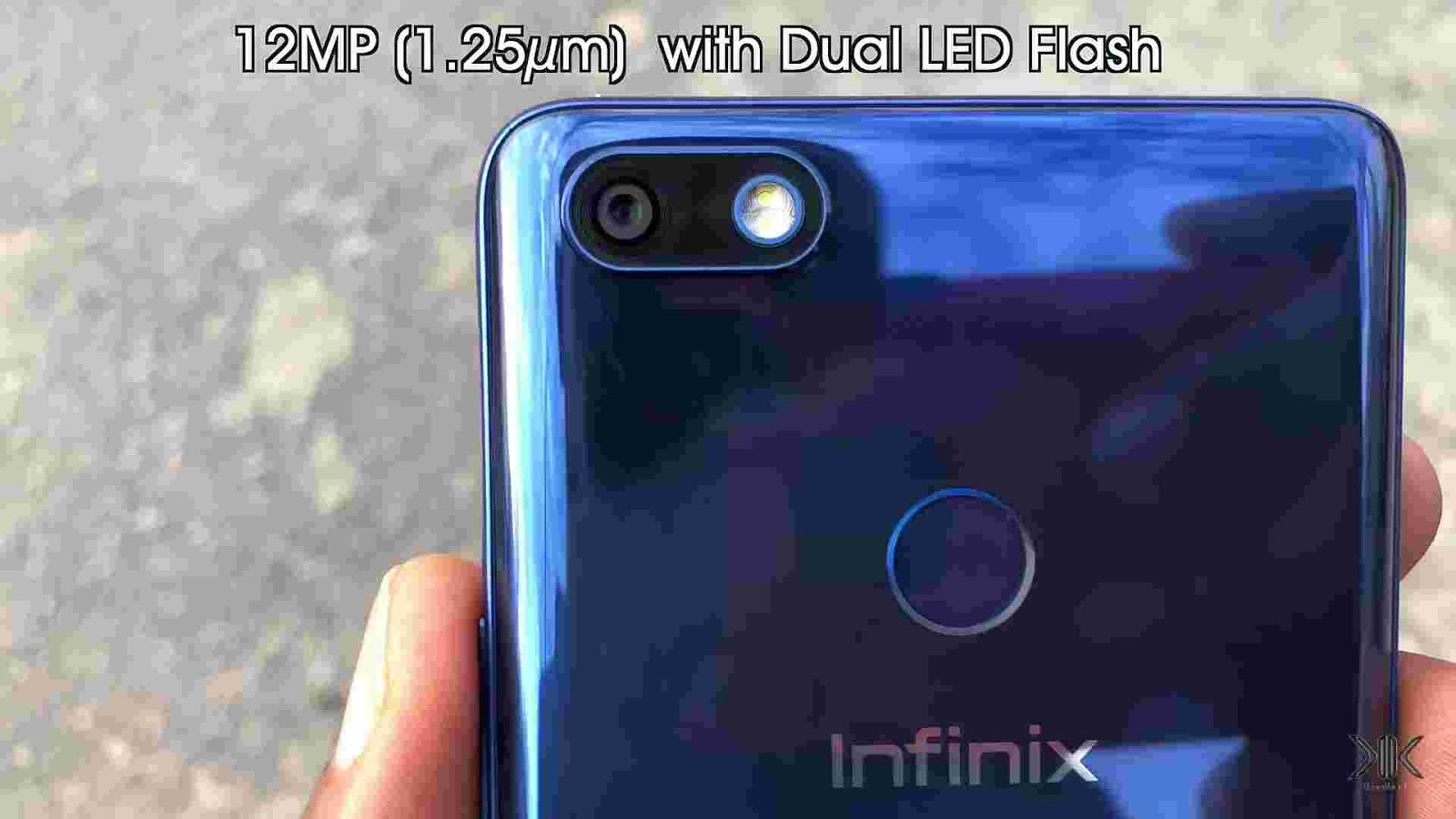 12MP single lens rear camera