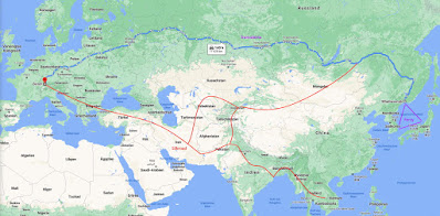 Silkroad vs Transsibiria and Overland and Vanlife adventure