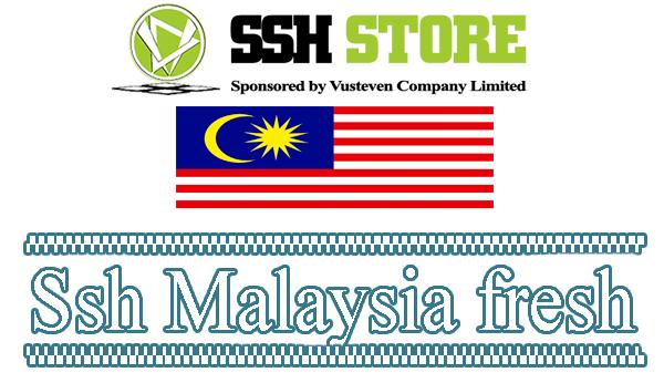 Share ssh Malaysia fresh ( SSH MY Free ) Check fresh 18/01/2017