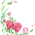 Water Colour Flower PNG 16