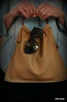 Lovelea's leather round handle handbag