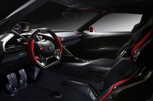2018 Toyota Supra Interior