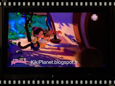 la tribu Monchhichi kiki dessin animé