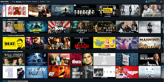 Prime Video Content in the USA