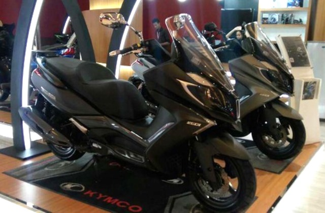 Matic Kymco 250