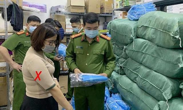 Khởi tố vụ án làm giả hàng nghìn bộ quần áo bảo hộ y tế