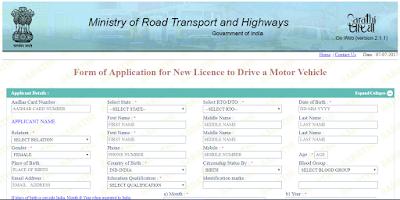 Driving license in Karnataka