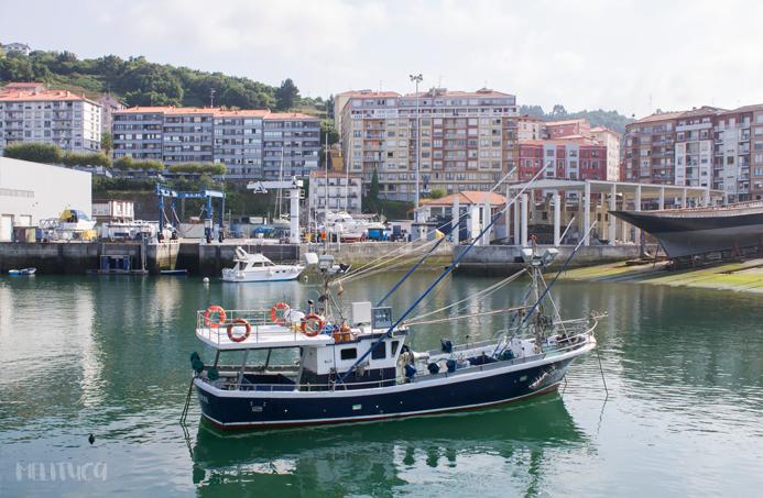 paseo puerto Bermeo Vizcaya fotografía
