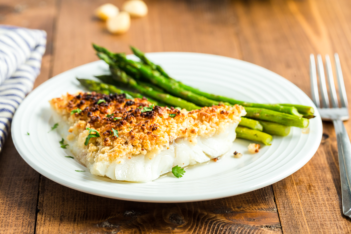 Oven Baked Coconut Macadamia Fish Fillets