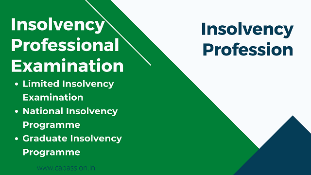 Insolvency Professional Examination