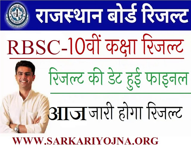 RBSC 10th class Result , Results 2019