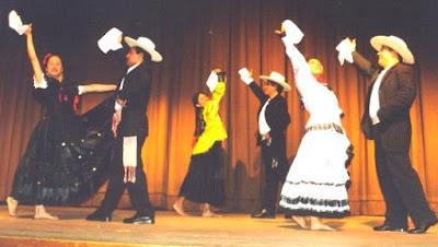 Foto de parejas de baile en son de la marinera norteña