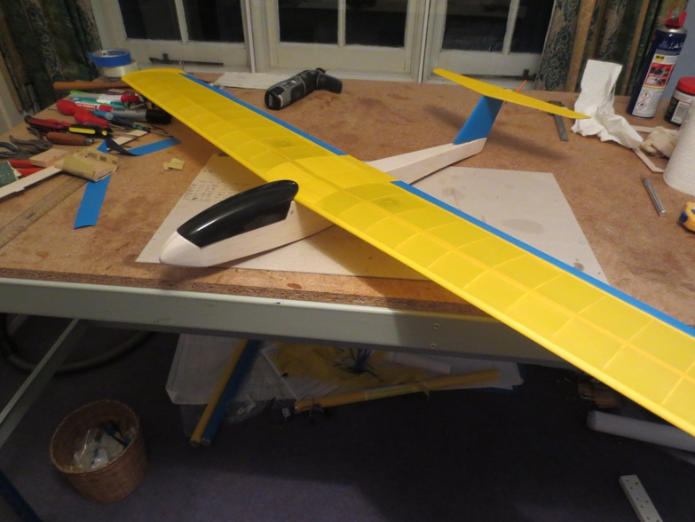 Slope Soaring Sussex: Coyote Glider Build