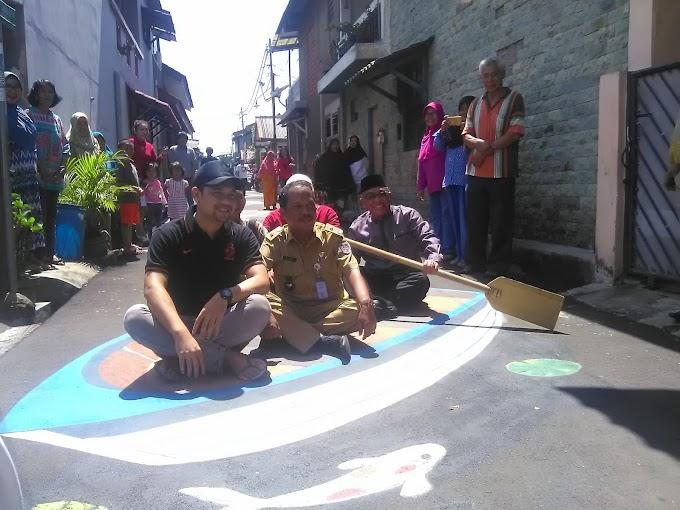 Walikota Kunjungi Kampung 3 Dimensi