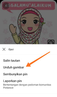 Cara Download Gambar di Pinterest Iphone dan Android tanpa Aplikasi