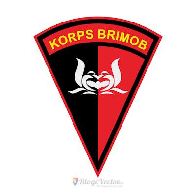 Korps Brimob Polri Logo Vector