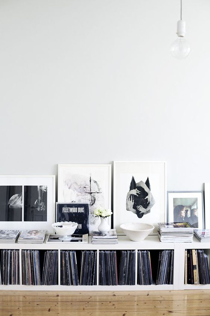 9 rad vinyl record storage solutions poppytalk. Black Bedroom Furniture Sets. Home Design Ideas