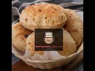Egyptian municipal bread