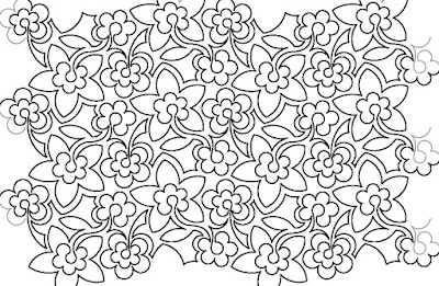 'Flowerumpus' quilt pattern designed by Hermione Agee