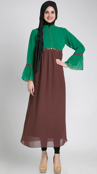 Gambar Busana Muslim Trendy Untuk Perempuan Hamil