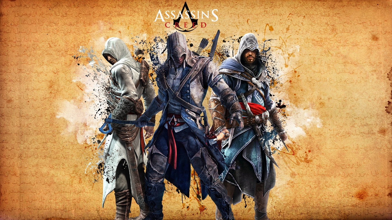 GaminGeneration: Assassins creed 1366x768 HD Wallpapers