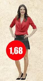 Cuánto mide María Luisa Godoy