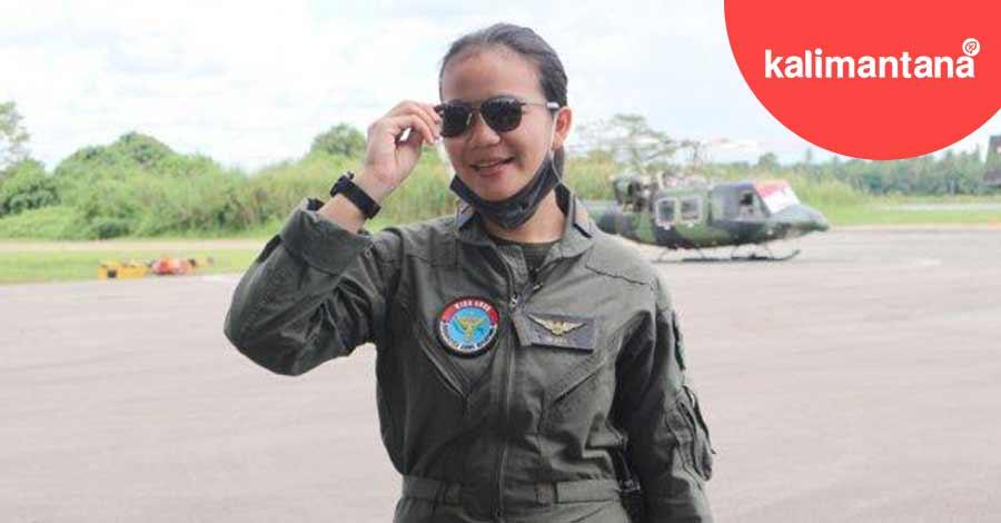 Gadis Dayak Pilot Helikopter