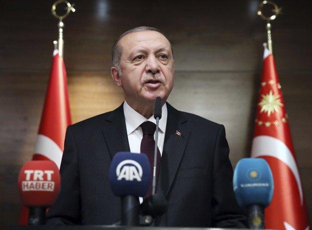 Ερντογάν: Οι Έλληνες φοβήθηκαν με τη «Γαλάζια Πατρίδα»
